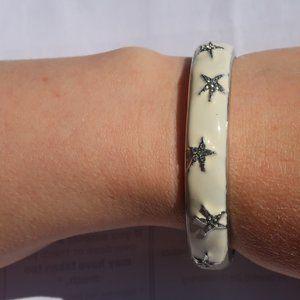 Bangle Bracelet Cleo Starfish Hinged Opening